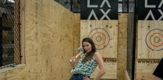 axe throwing los angeles laax north hollywood
