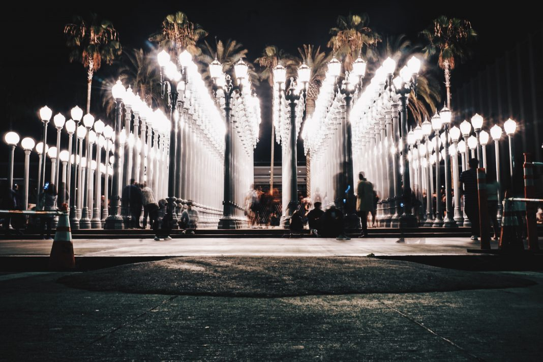 free museum days los angeles urban light lacma