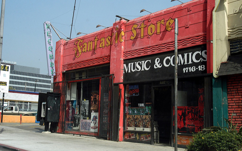 comic book store true romance los angeles