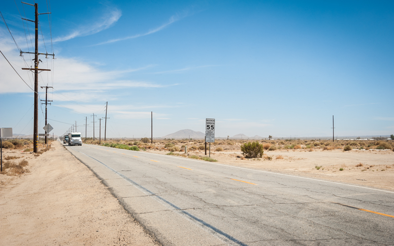 Palmdale california desert