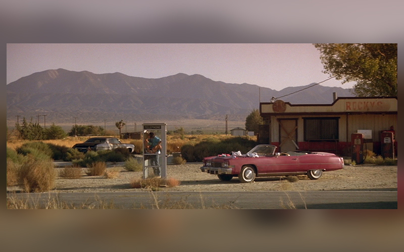 true romance phone booth scene location