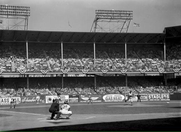 world series dodgers 1956 vintage retro baseball