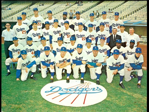 world series dodgers 1963 vintage retro baseball
