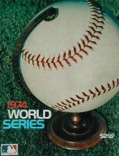 world series dodgers 1974 vintage retro baseball