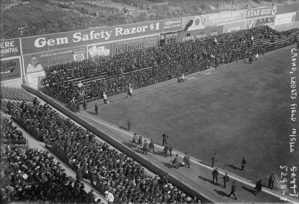 world series dodgers 1920 vintage retro baseball