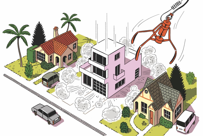 Homes that look like big white boxes have taken over the westsides landscape