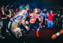 suburban fight wrestling los angeles bar wrestling