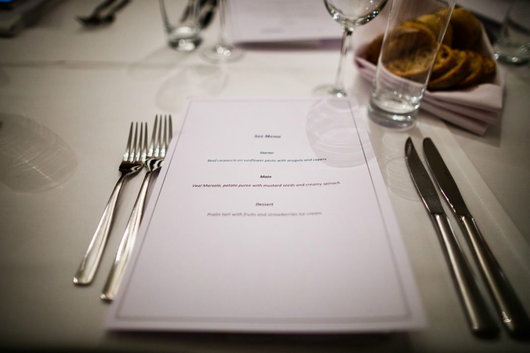 restaurant menu design book