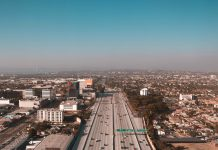 things to do los angeles skyline traffic freeway