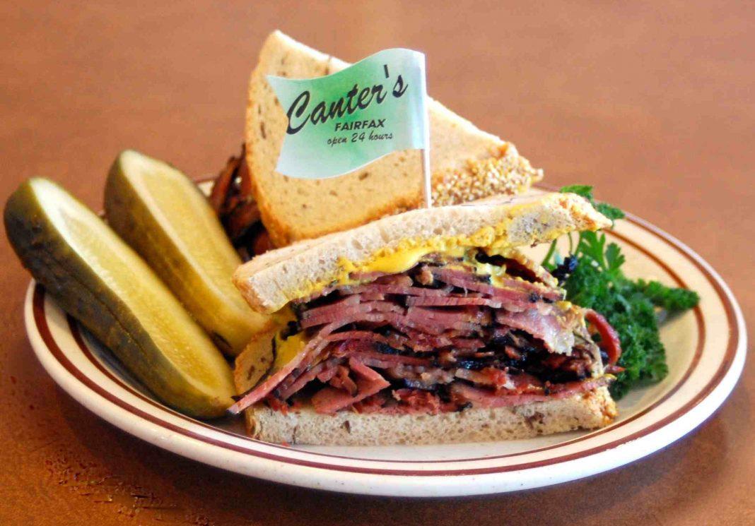 canters pasadena pastrami sandwich