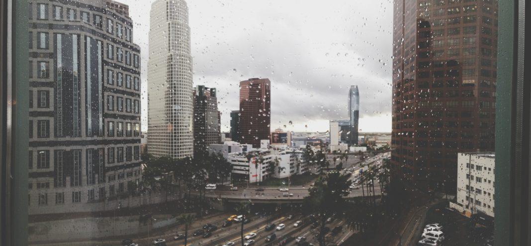 rain los angeles mudslide winter la
