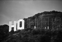 hollywood sign repair construction anniversary