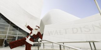 Holiday Events Los Angeles Disney Concert Hall Santa