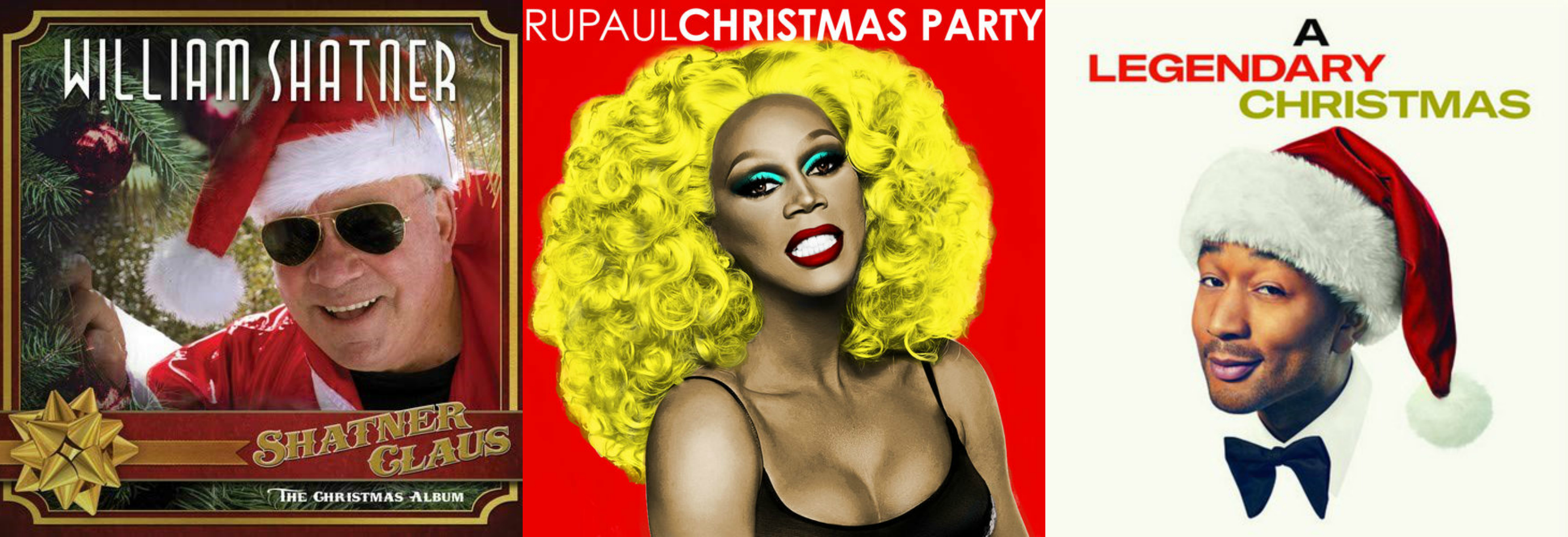 2018 Christmas Music: RuPaul, William Shatner, John Legend