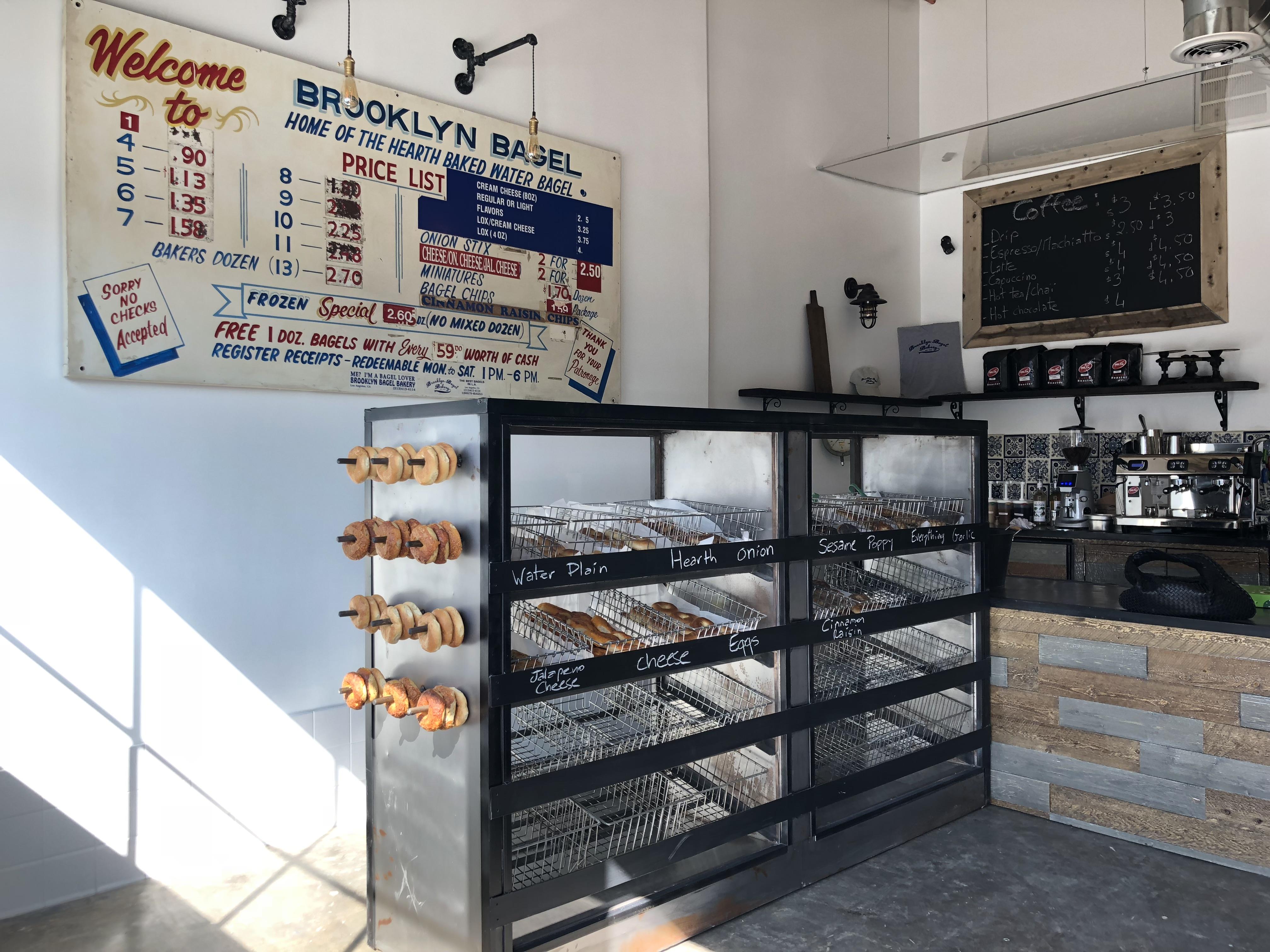 brooklyn bagel bakery reopening beverly boulevard los angeles