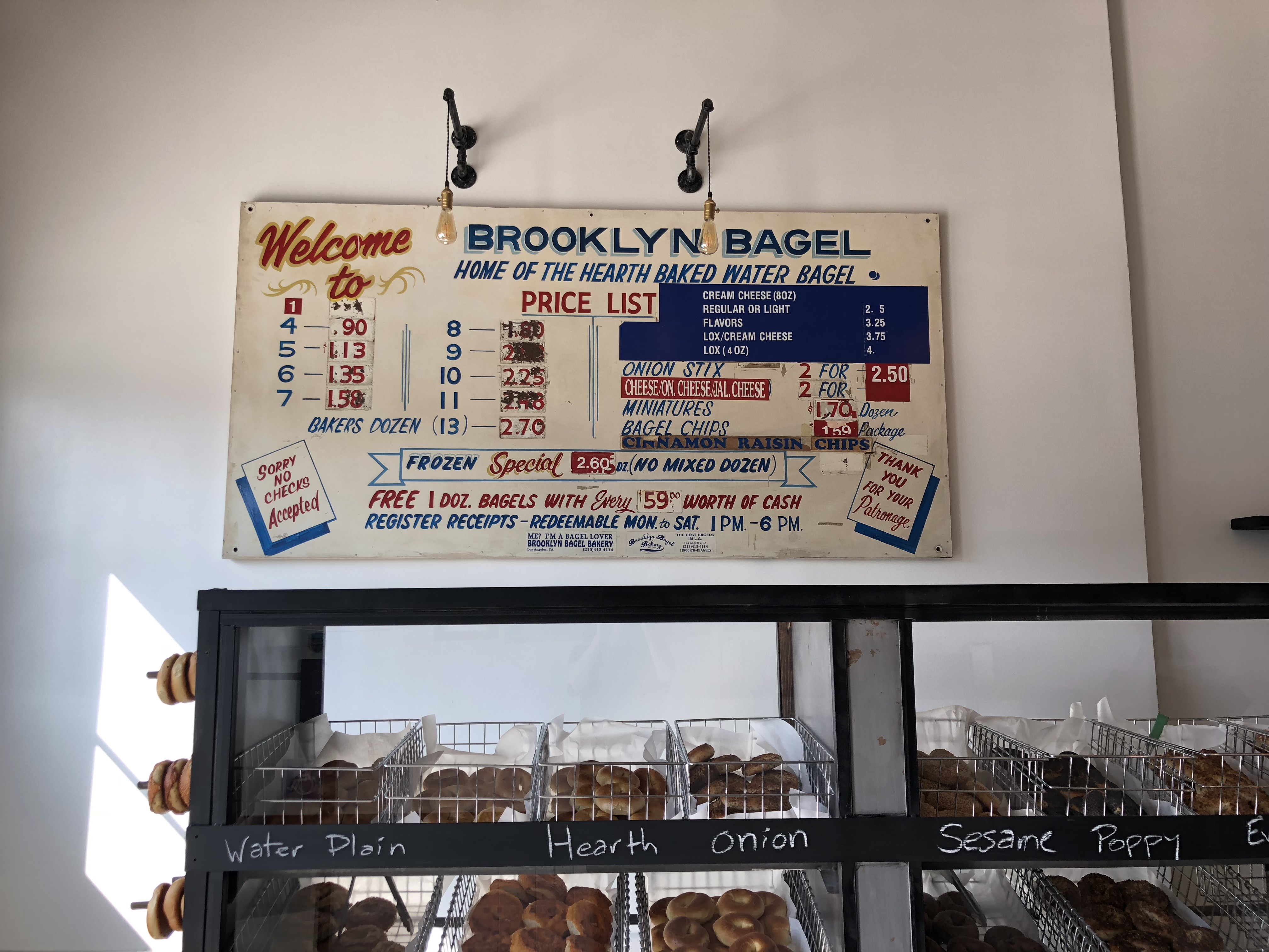 brooklyn bagel bakery los angeles