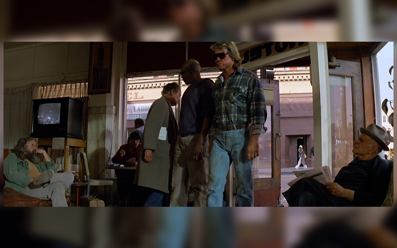 hotel lobby they live roddy piper