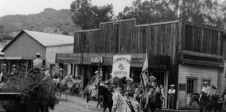 western town paramount ranch burned