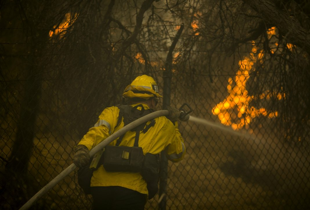 woolsey fire help firefighters