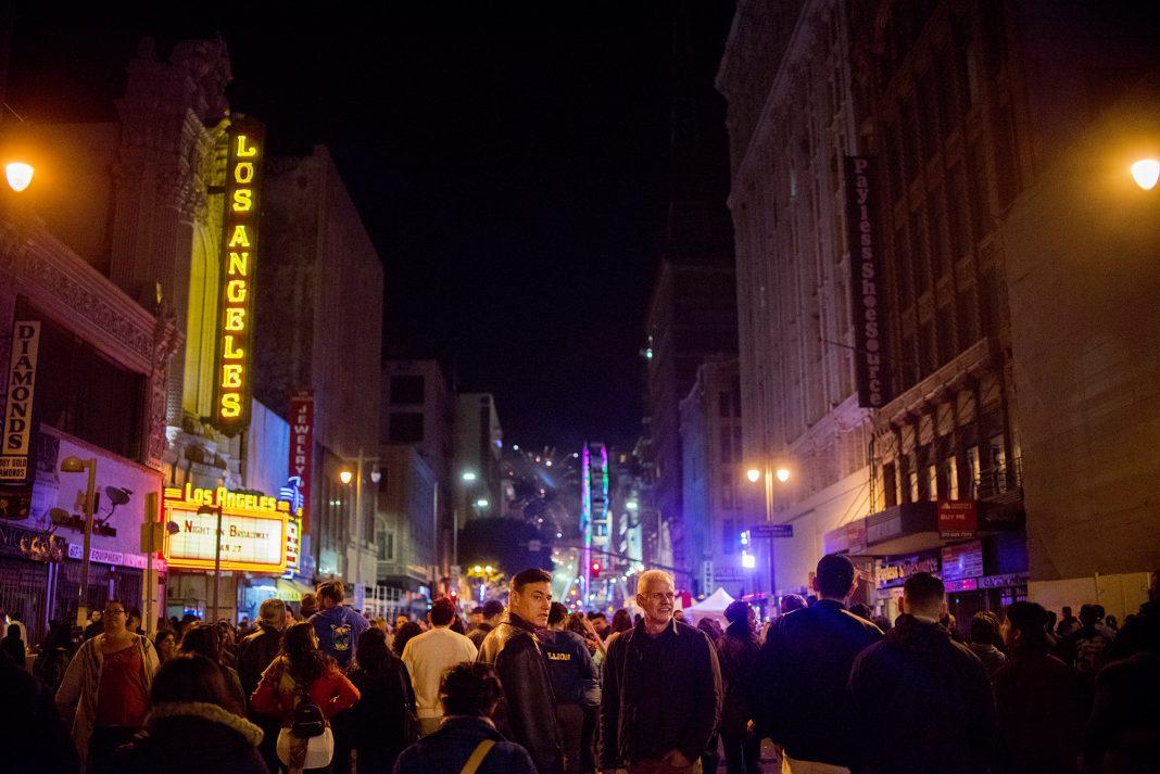 canceled night on broadway los angeles theater dtla street