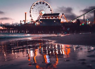 santa monica ferris wheel things to do in la