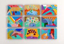 best exhibits in la david hockney art museum gallery paintings