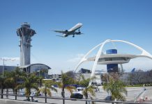 LAX air traffic control shut down airport airplane
