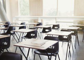 la teachers strike empty classroom desks lausd strike