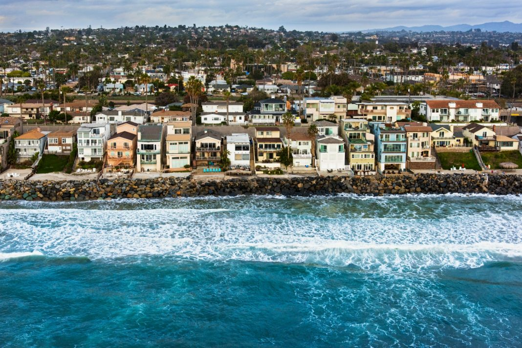 king tide climate change california