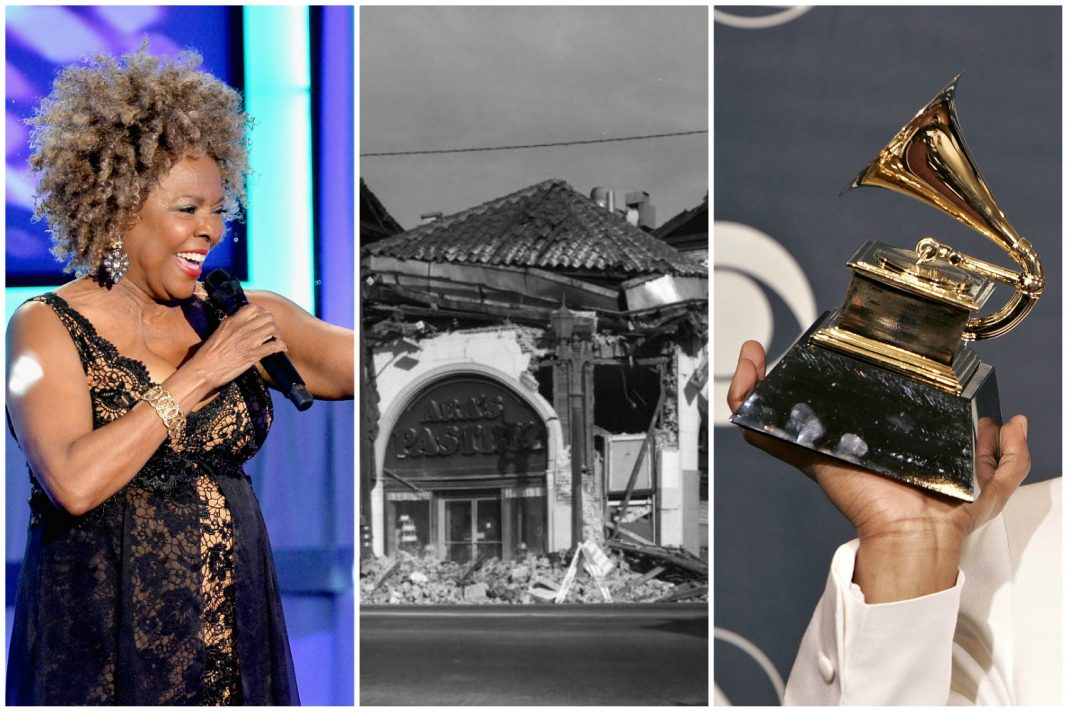 thelma houston northridge earthquake grammy