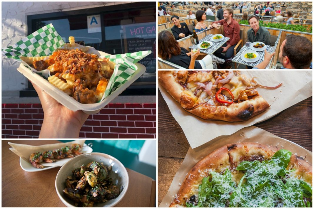 music venues with food