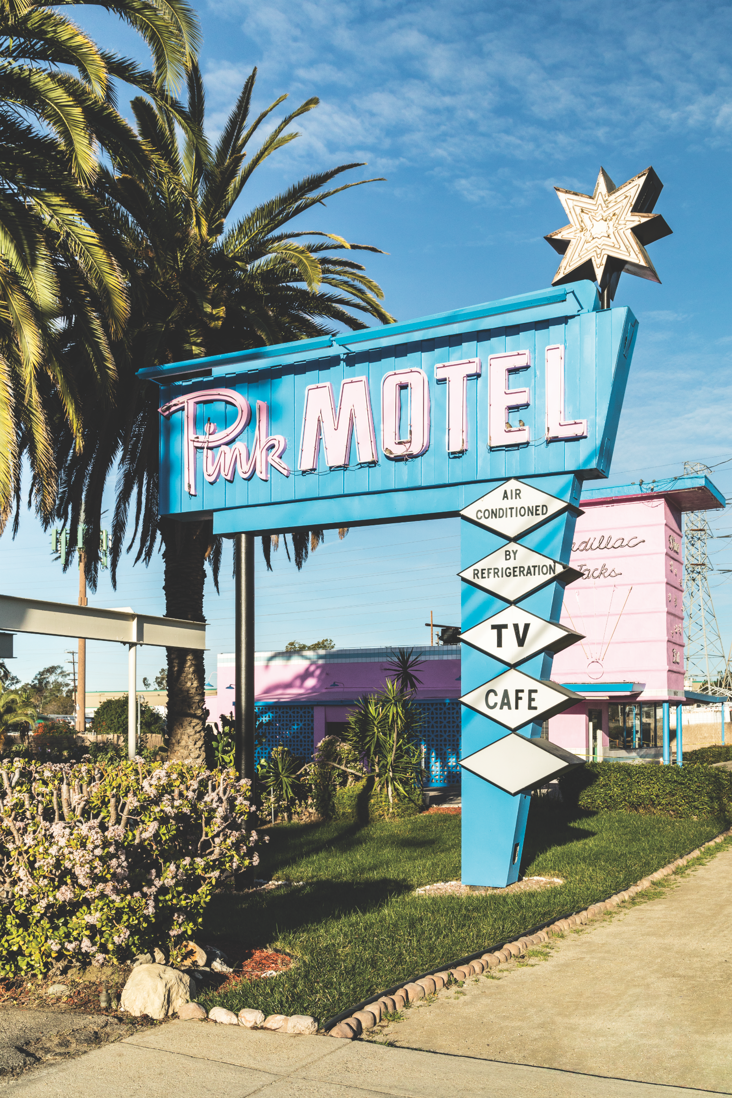 pink motel sun valley