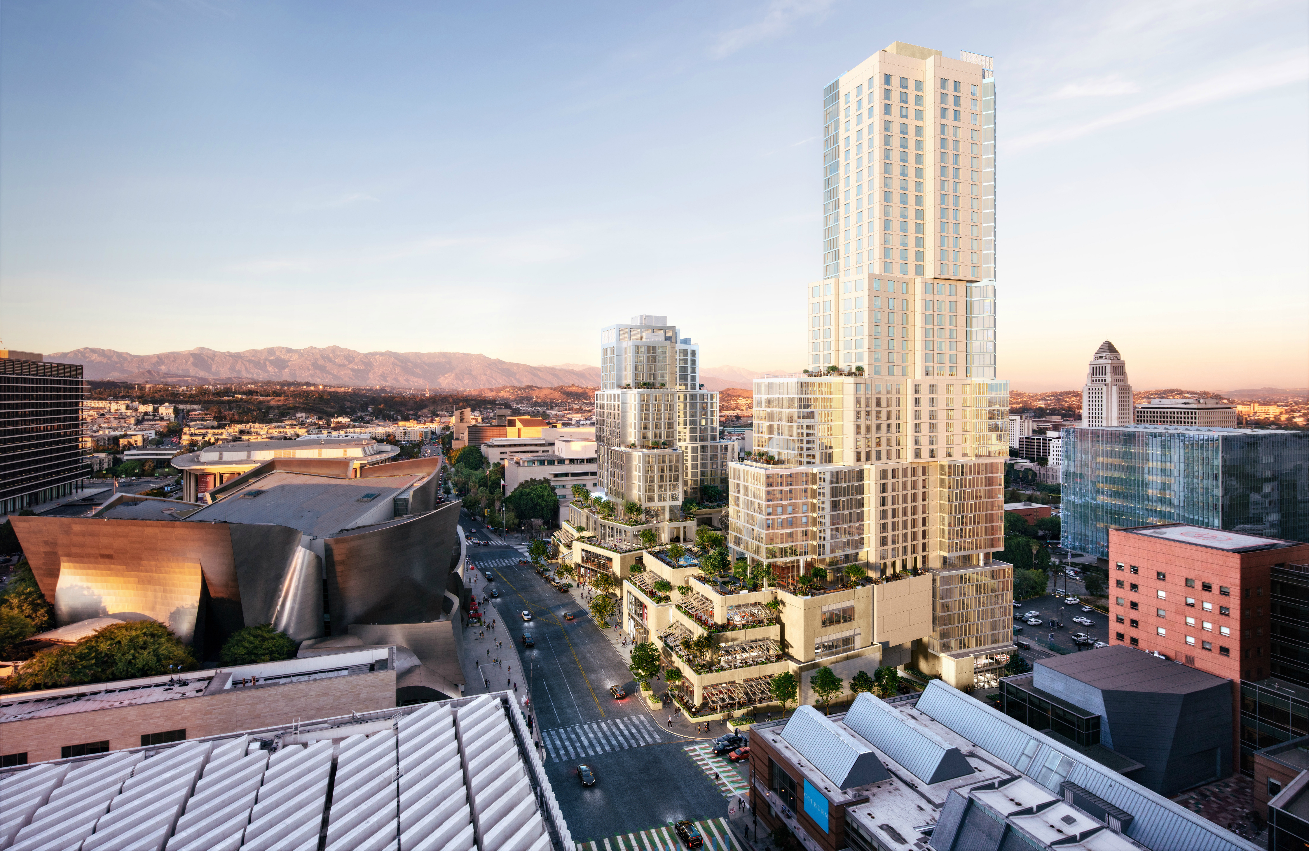Take a Peek at Frank Gehry's New DTLA Tower