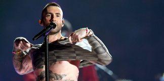adam levine nipples protest