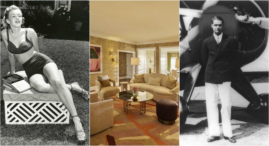 marilyn monroe bungalow beverly hills hotel howard hughes vintage hollywood