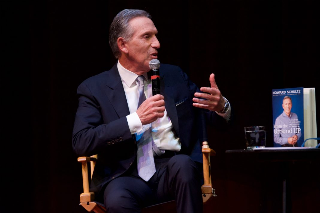 howard schultz live talks los angeles