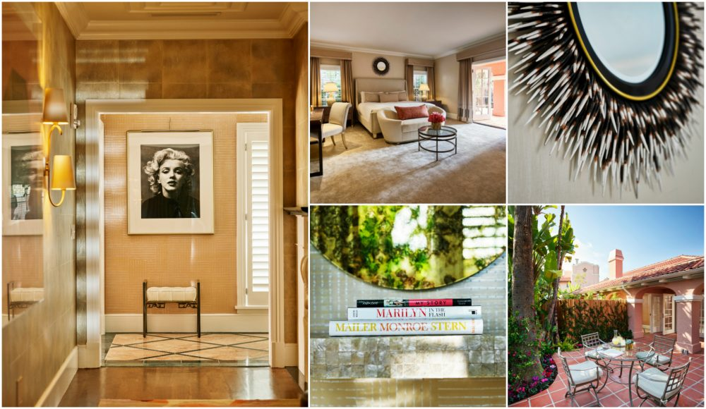 beverly hills hotel marilyn monroe bungalow