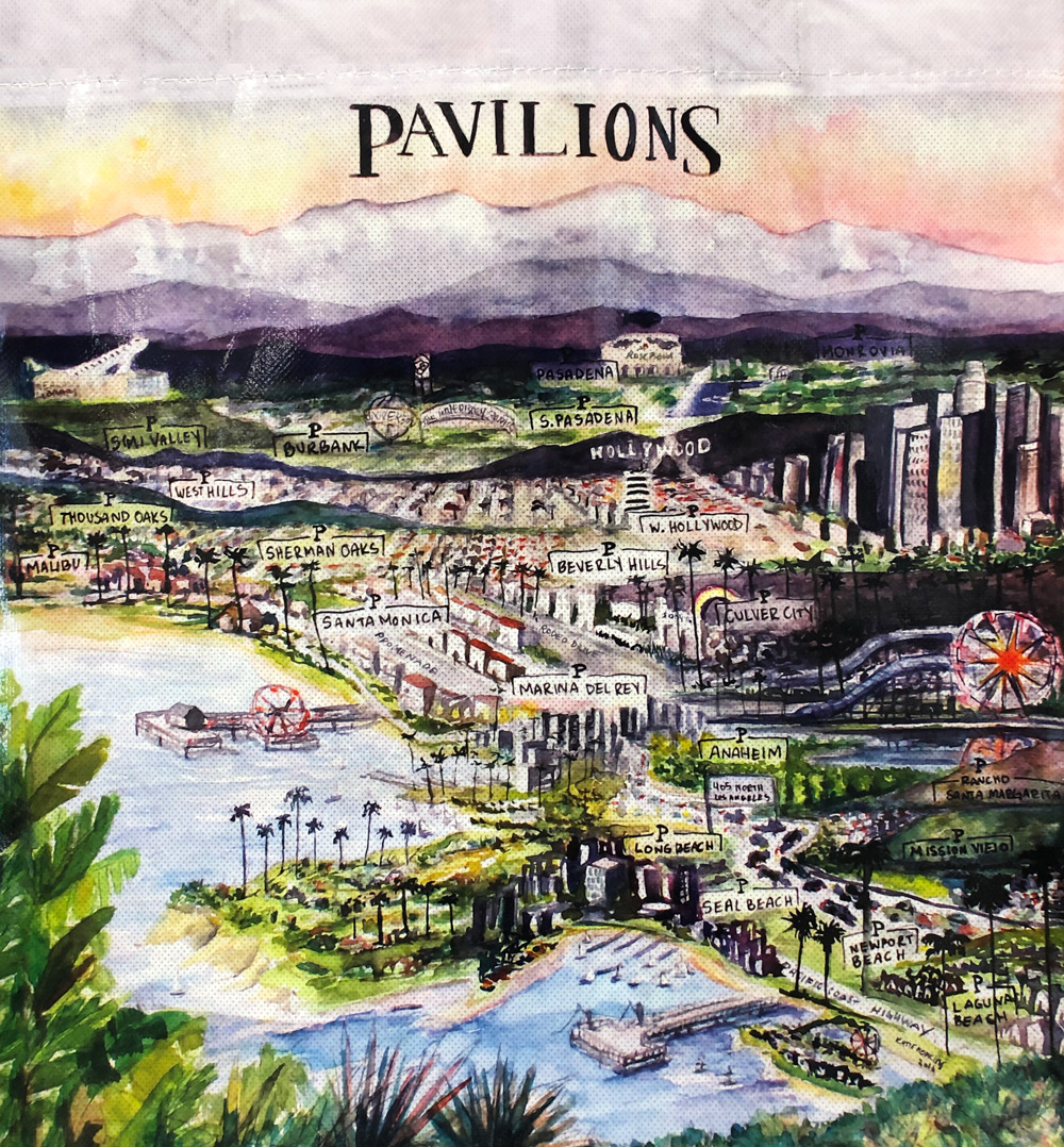 pavilions bag map