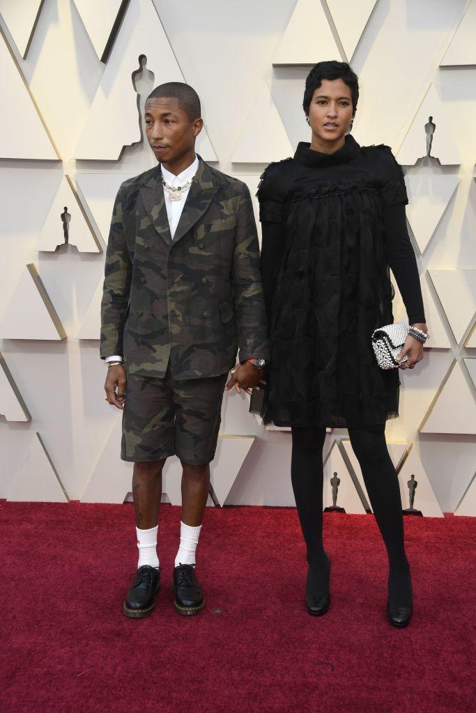 pharrell williams oscar outfit