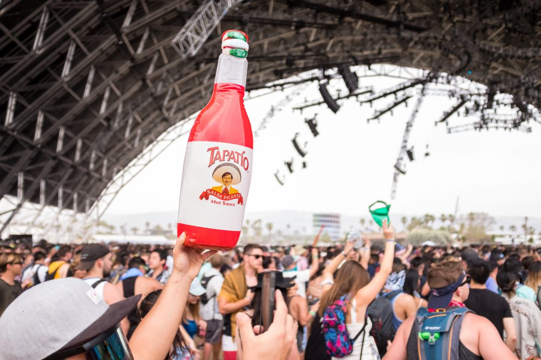 Coachella food eating at coachella tapatio sahara tent