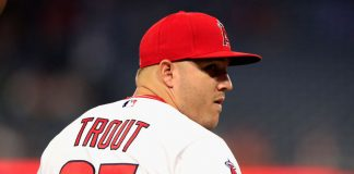 mike trout angeles contract