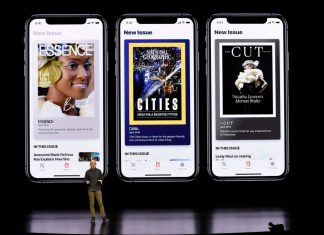 apple news los angeles times wall street journal apple event