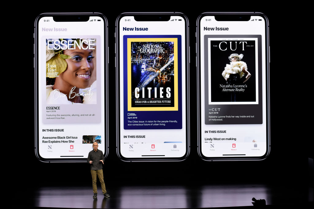 "The Los Angeles Times Is Among the Partners for Apple's ""Netflix for News"""