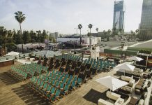 outdoor movies los angeles rooftop movies