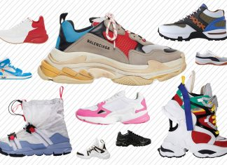 chunky sneakers dad sneakers