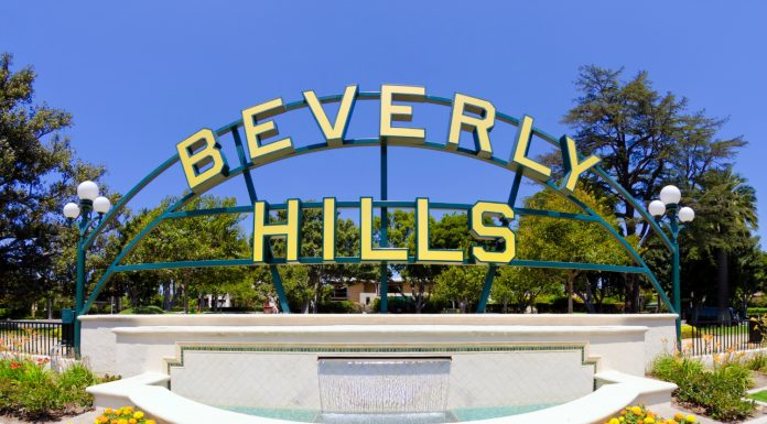 beverly hills metro purple line station