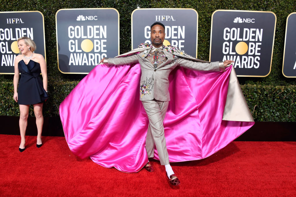 billy porter red carpet