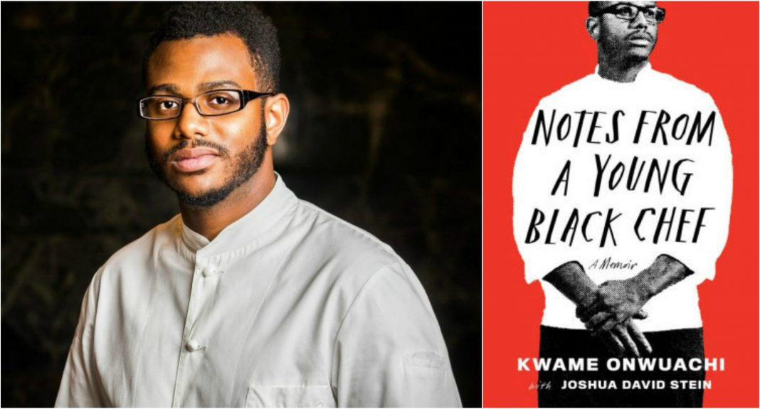 kwame onwuachi notes from a young chef