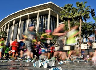 los angeles marathon paraplegic