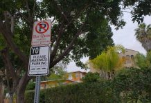 yo maximize parking signs echo park